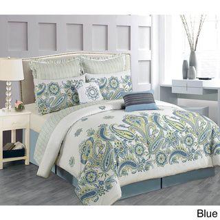 fe096643b9d475607b45179341b49fb5 - Better Homes And Gardens Indigo Paisley Comforter Set