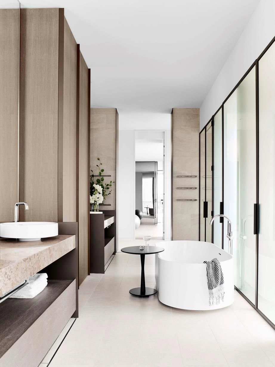 This Penthouse in Melbourne's Toorak is one of six stylish ...