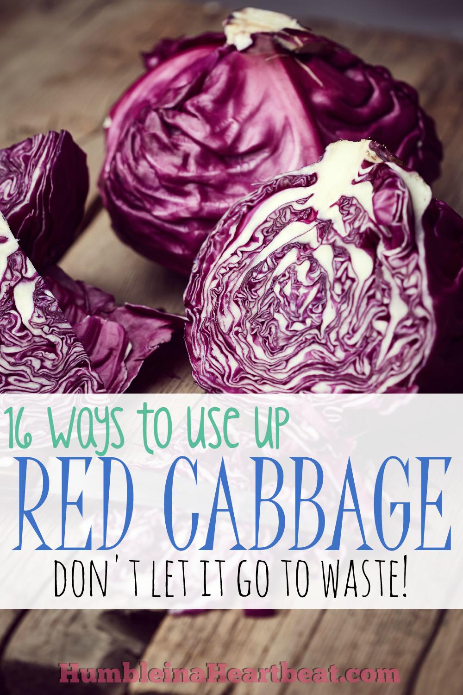 Leftover Ingredients: Red Cabbage