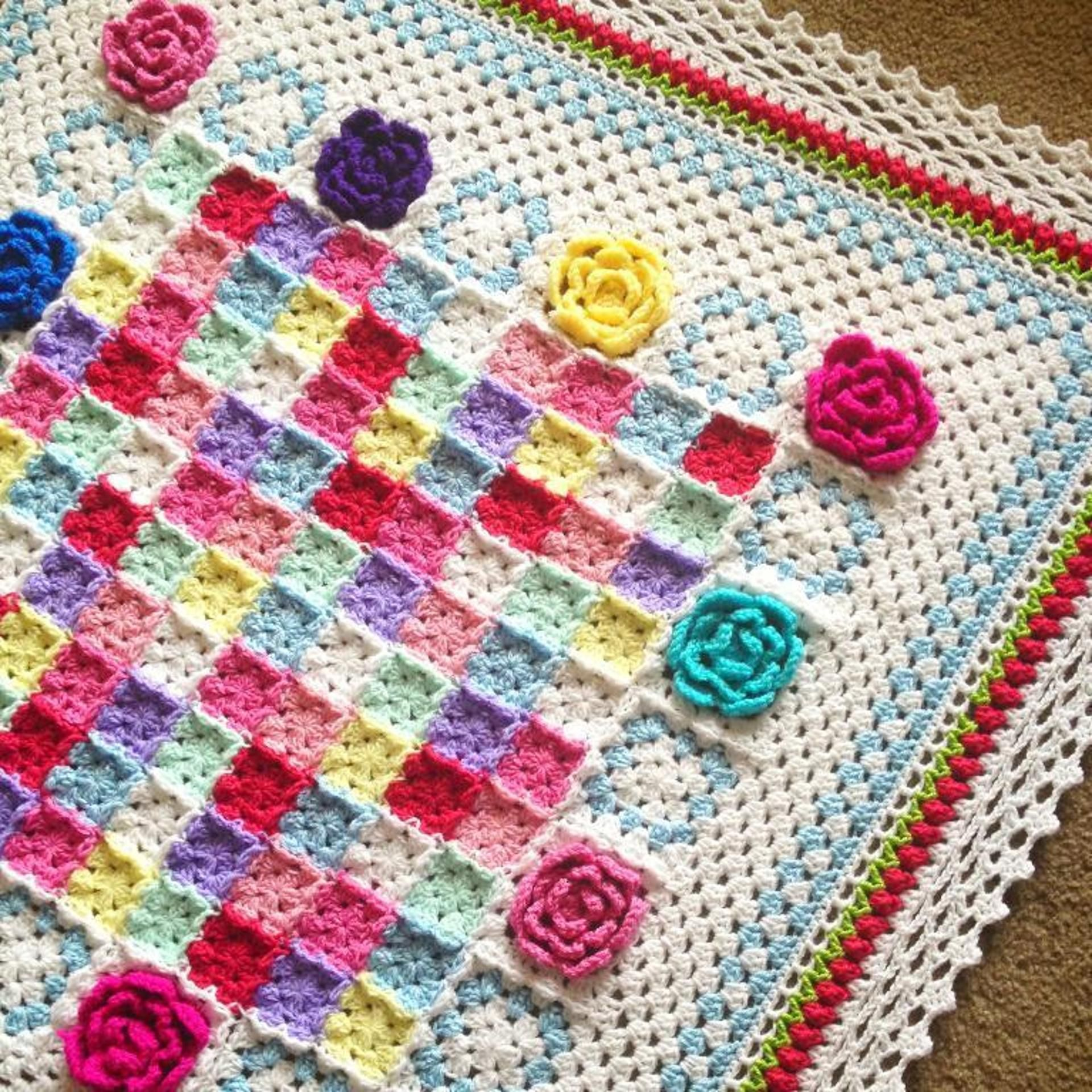 The most colorful crochet blanket patterns blanket crochet the most colorful crochet blanket patterns bankloansurffo Image collections