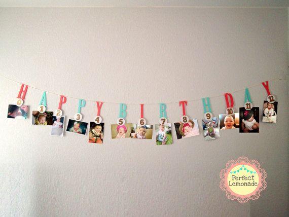 Hito foto Banner1 er cumpleaos decoracin cumple Amelie