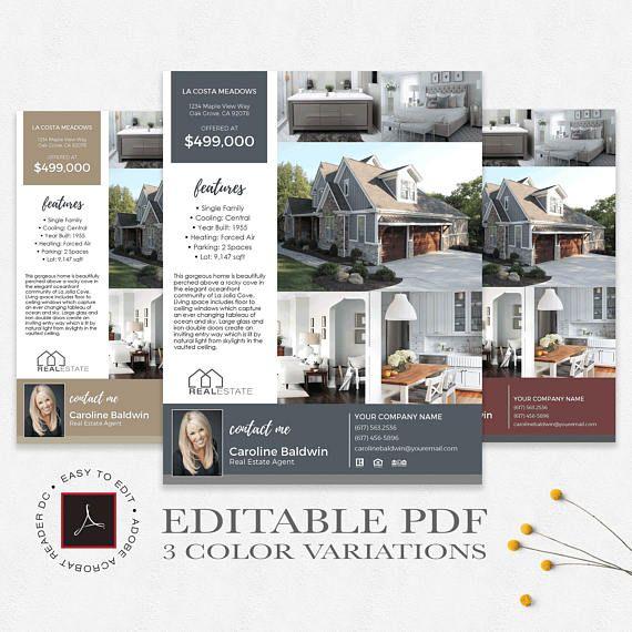 Real estate flyer template editable pdf 3 color variations real estate flyer template editable pdf 3 color variations real estate flyer maxwellsz
