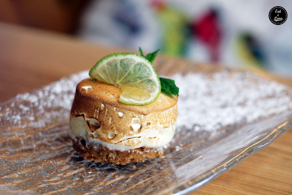 Tarta de lima restaurante La Canica Madrid