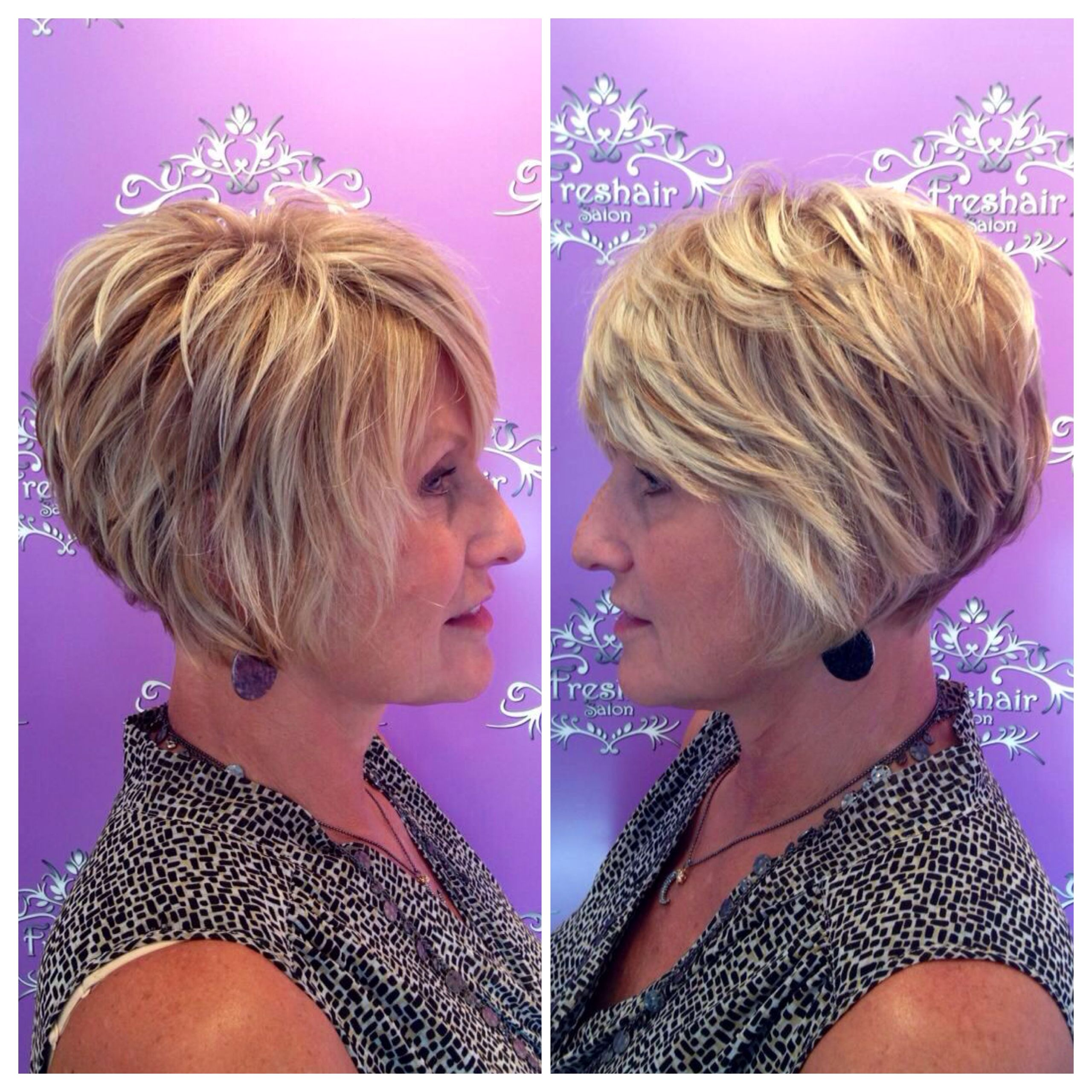 Loving This Blonde, Textured Bob By Stylist, Lindsay Capps