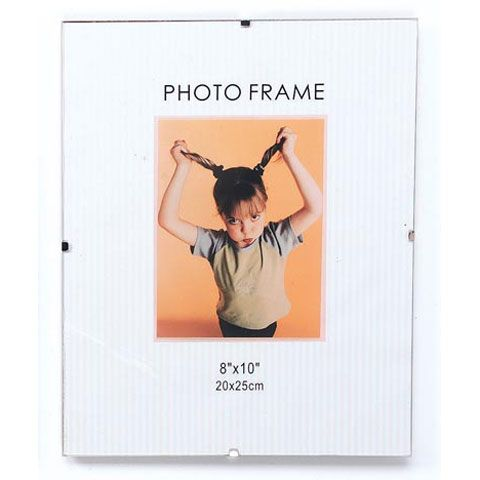 Frameless Glass Picture Frame: 8x10 inches | Pinterest | Glass ...