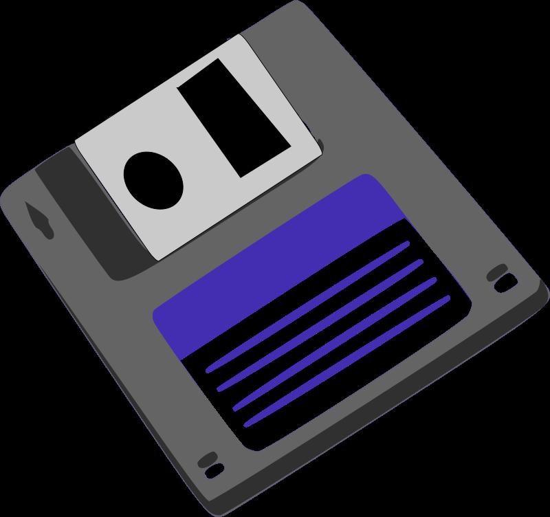 Image For Floppy Diskette Computer Clip Art Disk Free Clip Art Green