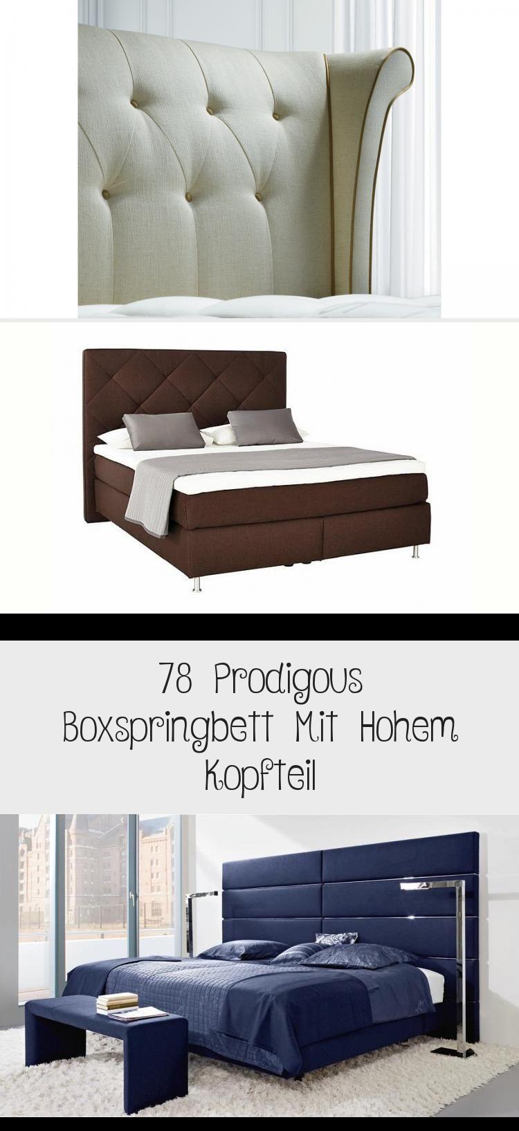 78 Prodigous Boxspringbett Mit Hohem Kopfteil Home Decor Decor Furniture