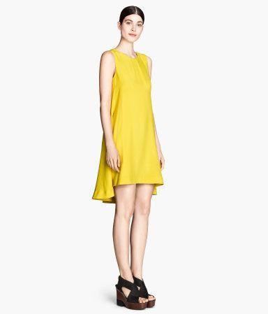 H m yellow dress 24