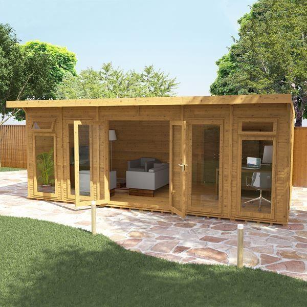 Avon 6m x 4m Insulated Garden Room httpwwwshedscouklog