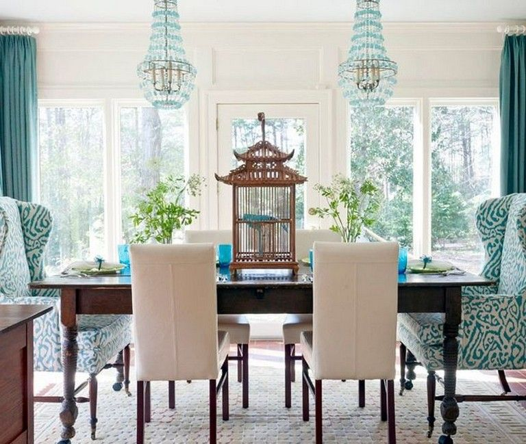 27+ Cozy Fabric Chair Designs For Dining Room Furniture