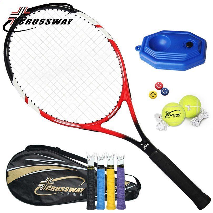 Crossway 1pc Teniski Reketi Racquet Ultra Lagani Pocetnici Ugljikov Profesionalni Trening Muskarci Reketi Utakmicu Amaterski Intermedijar 720 Racquets Tennis Racket Sports