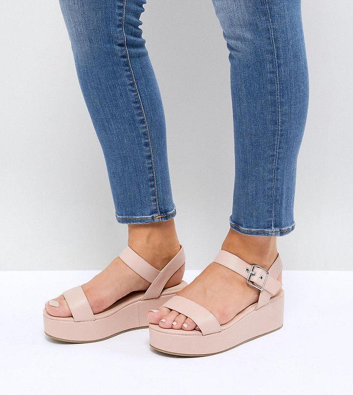 a70f6c3f5b TOUCAN Wide Fit Wedge Sandals | clothes | Wedge sandals, Wedges ...