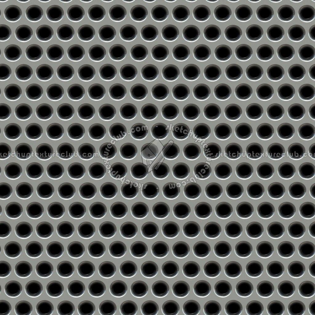 Perforated Metals Textures Seamless Perforated Metal