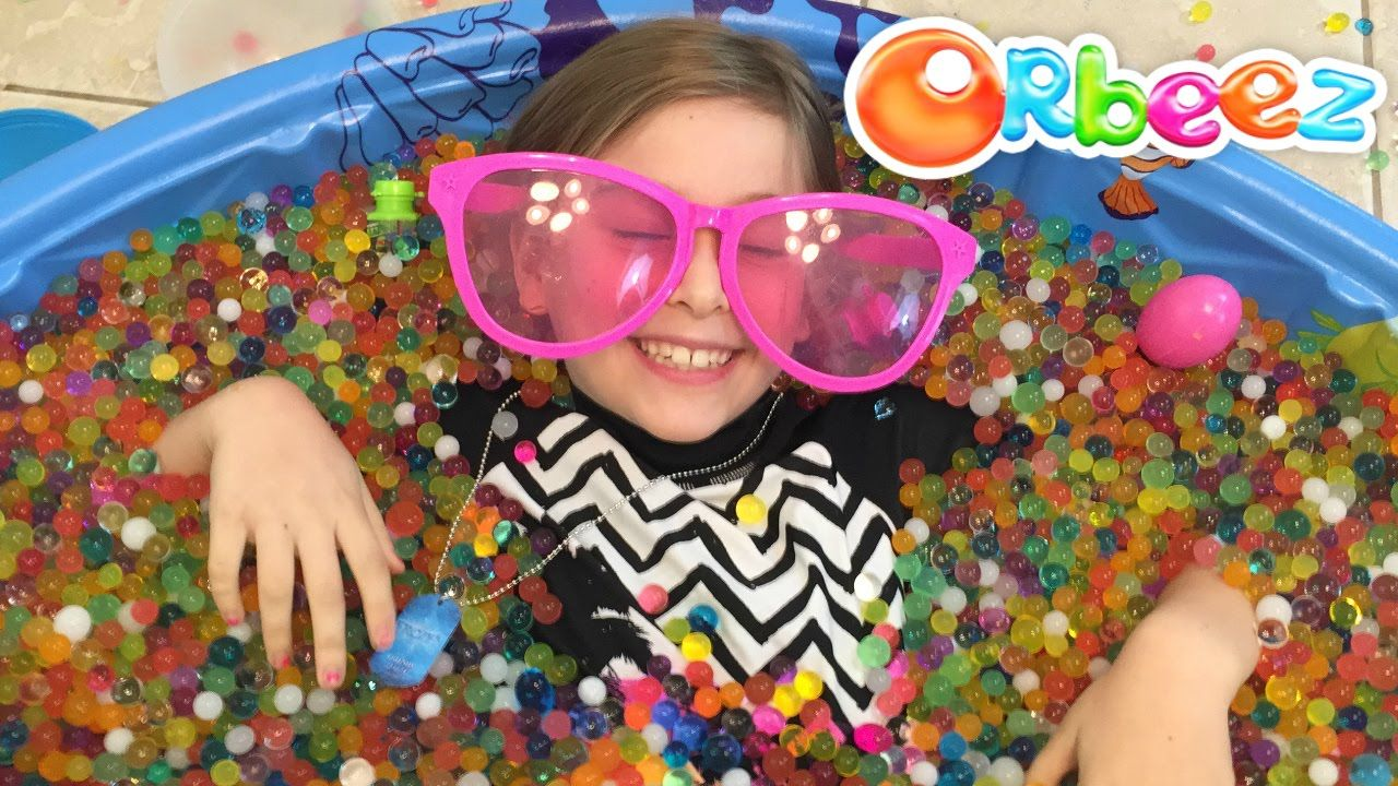 Orbeez Pool Party Challenge Hidden Surprise Toys