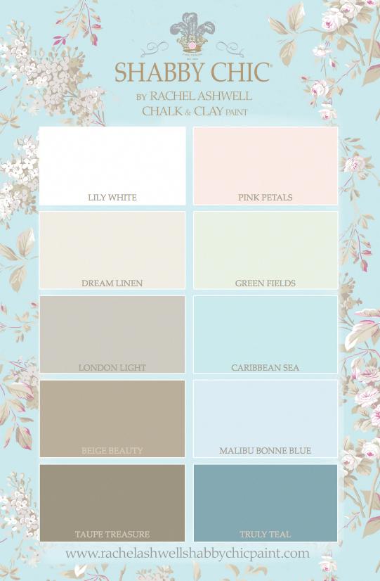 Shabby Chic® Paint - 10 Gorgeous Colors! #bedroomcolorschemes