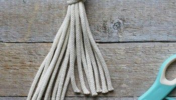 macrame wallhanging for beginners - My French Twist