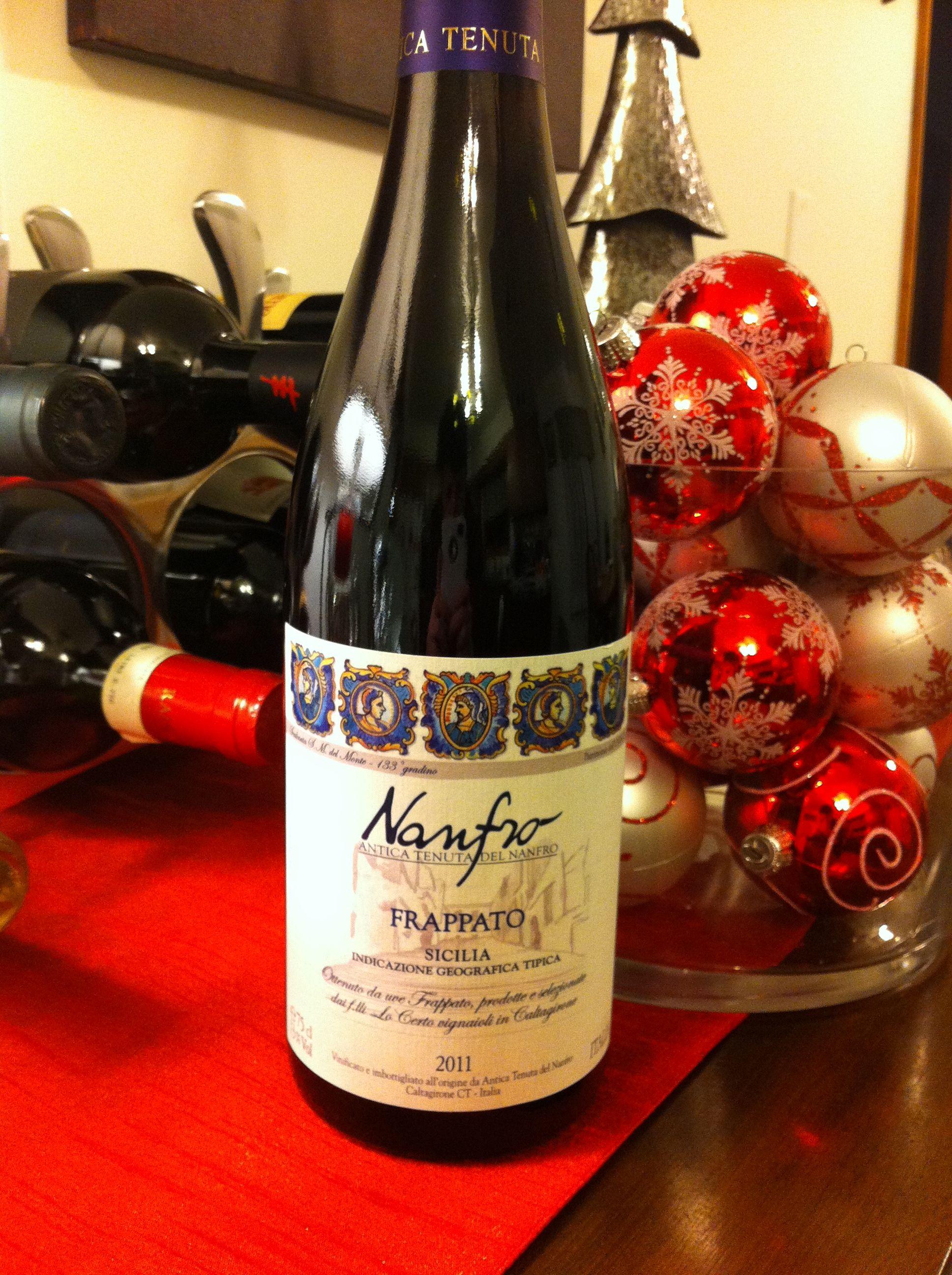 Nanfro Frappato Wine Bottle Wine Favorite Recipes