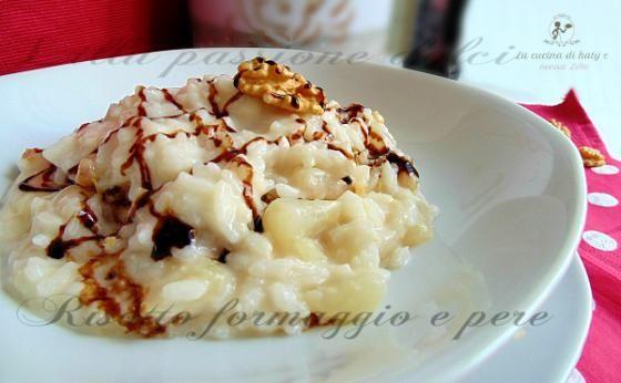 Risotto formaggio e pere  #ricette #food #recipes