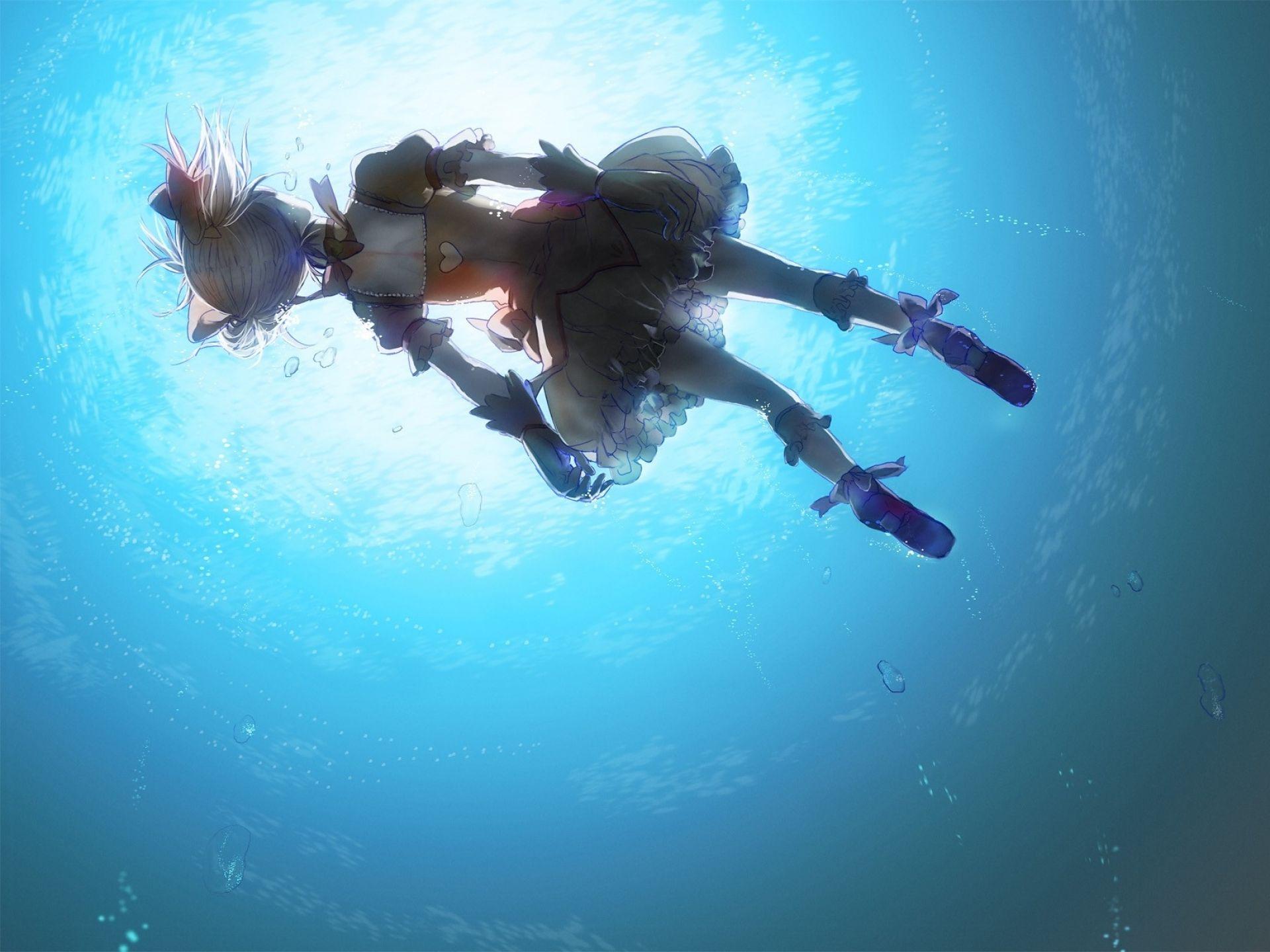 Anime Underwater Wallpapers - Top Free Anime Underwater