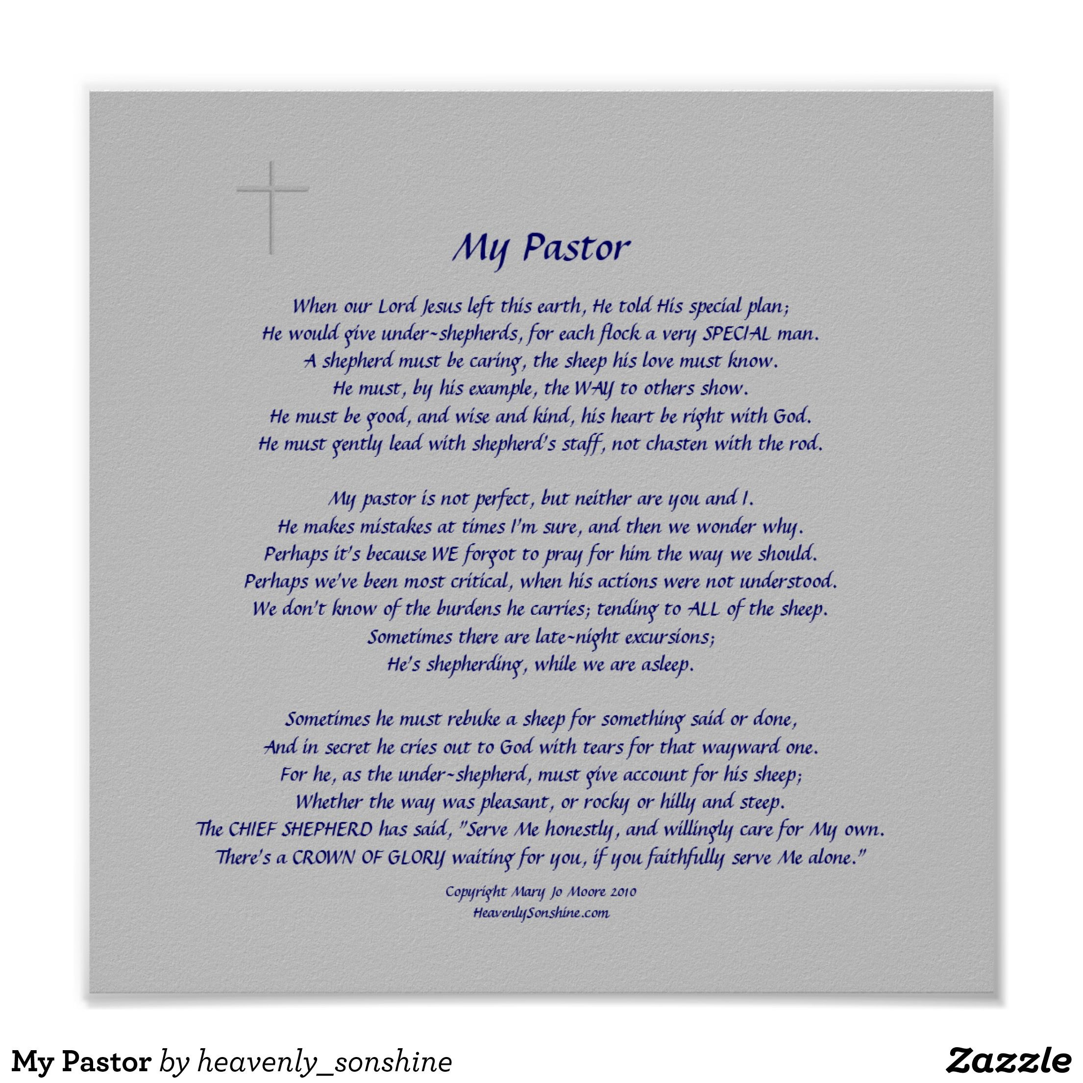 My pastor poster pastor my pastor poster thecheapjerseys Choice Image