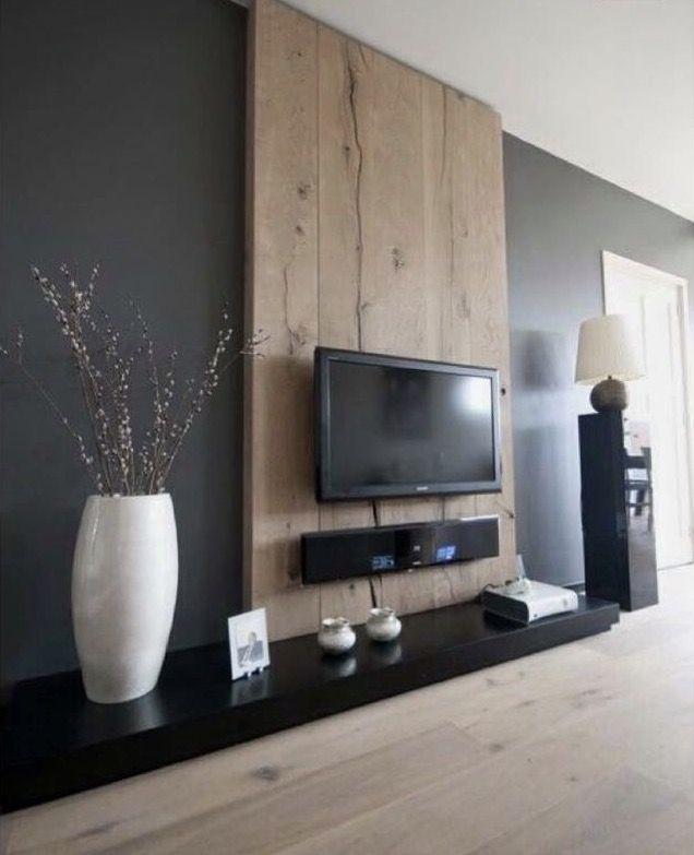 Bildergebnis Fur Wandverkleidung Wohnzimmer Home Decoration Tv