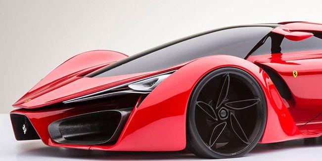 Ferrari F80 Concept Car Winner Or Sinner Goruntuler Ile Pembe