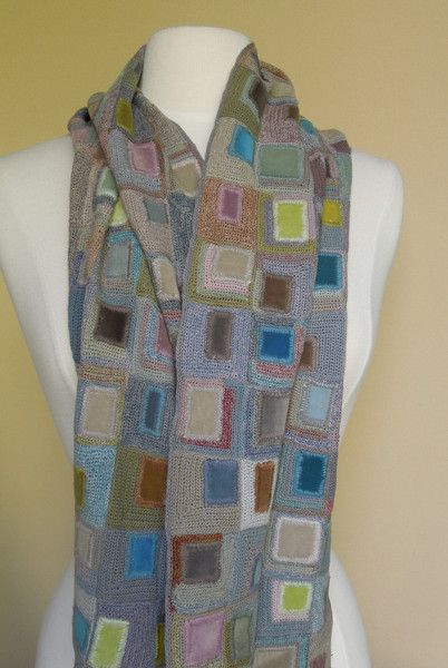 Skyscraper Scarf — French Needlework Kits, Cross Stitch, Embroidery, Sophie Digard — The French Needle