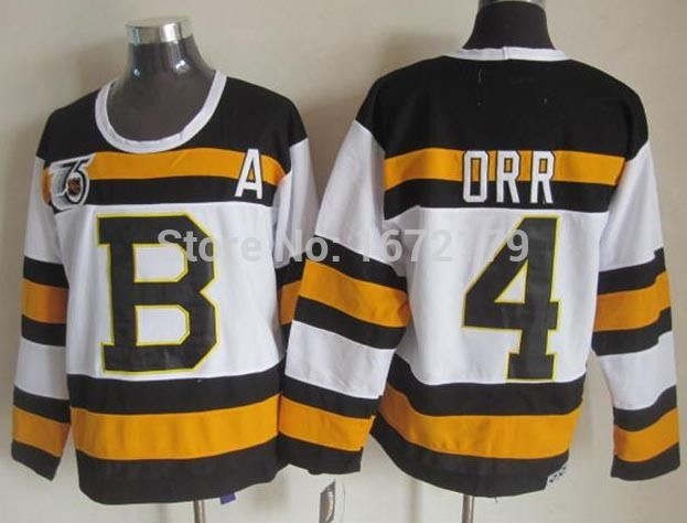 ad43e74855b store boston bruins 4 bobby orr 1967 68 black ccm vintage throwback jersey  59fd8 61b85