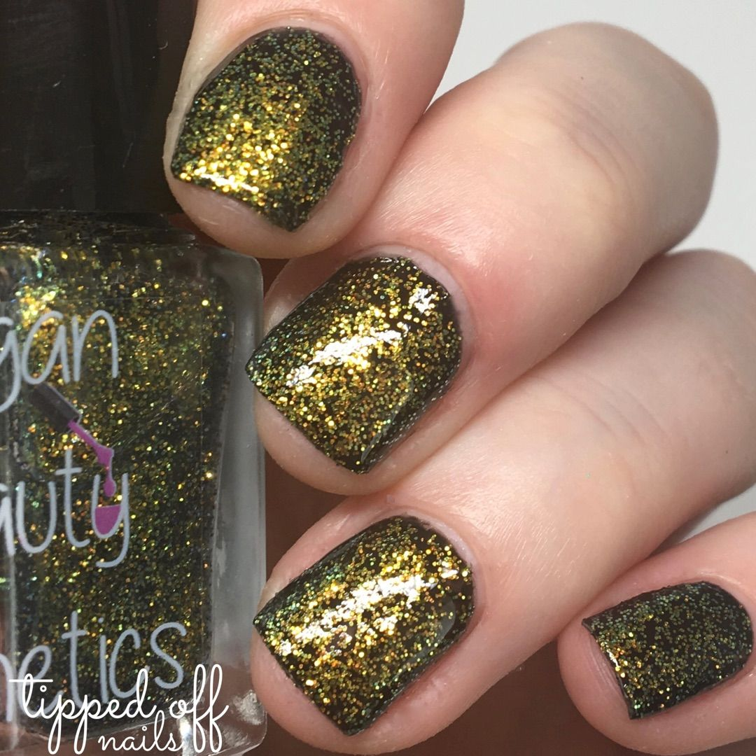 Vegan Beauty Cosmetics Galaxy Like Glitter And Gold V Silver