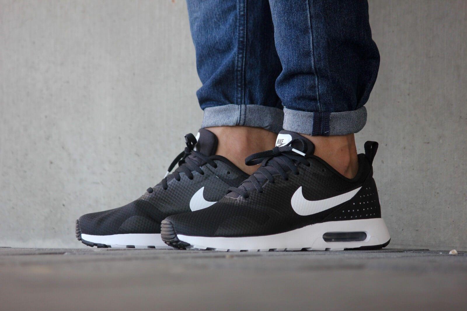 Nike Air Max Tavas Black White White | Footshop