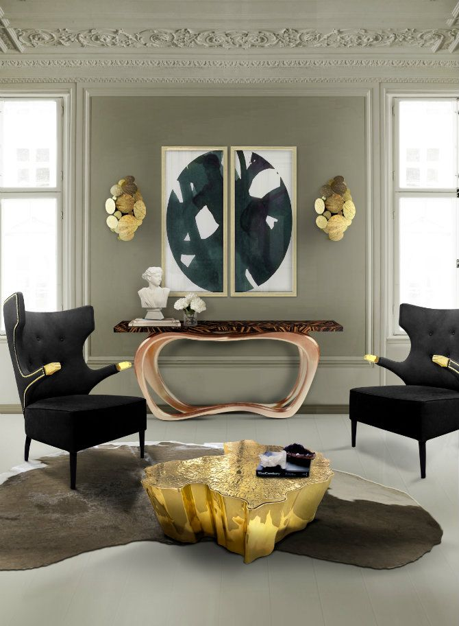 Contemporary Console Tables by Boca do Lobo Modern console tables