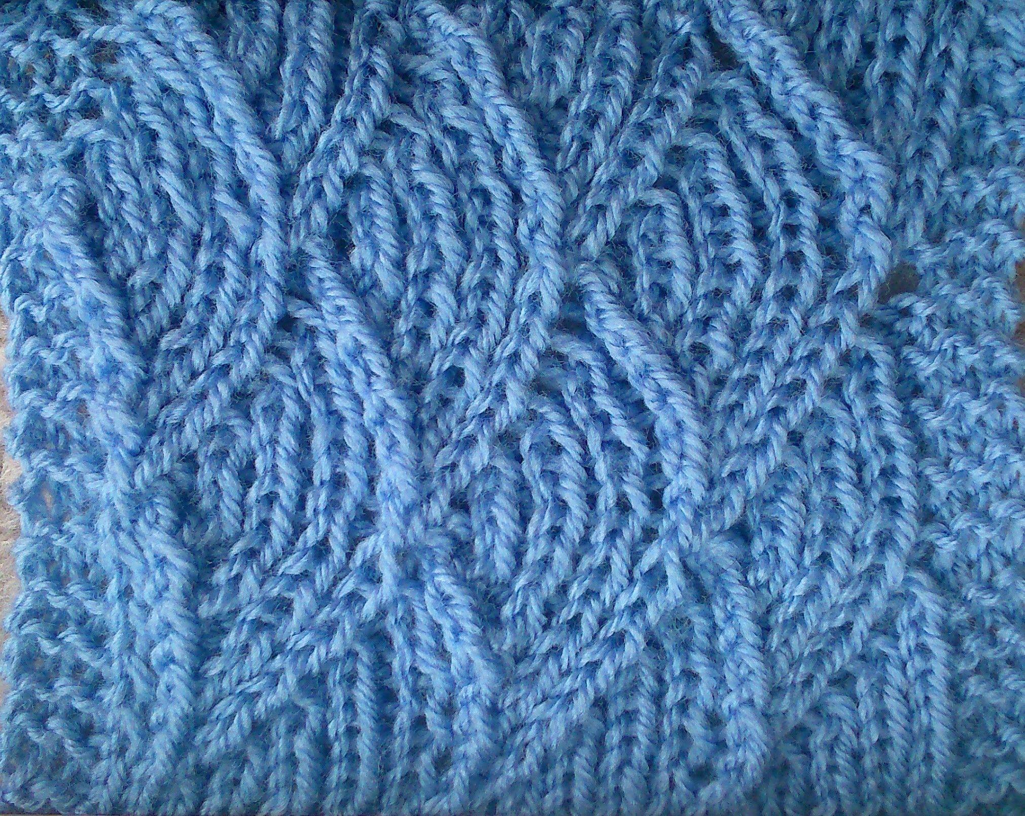 MERMAID KNITTING STITCH PATTERN TUTORIAL | Knitting stitch patterns ...