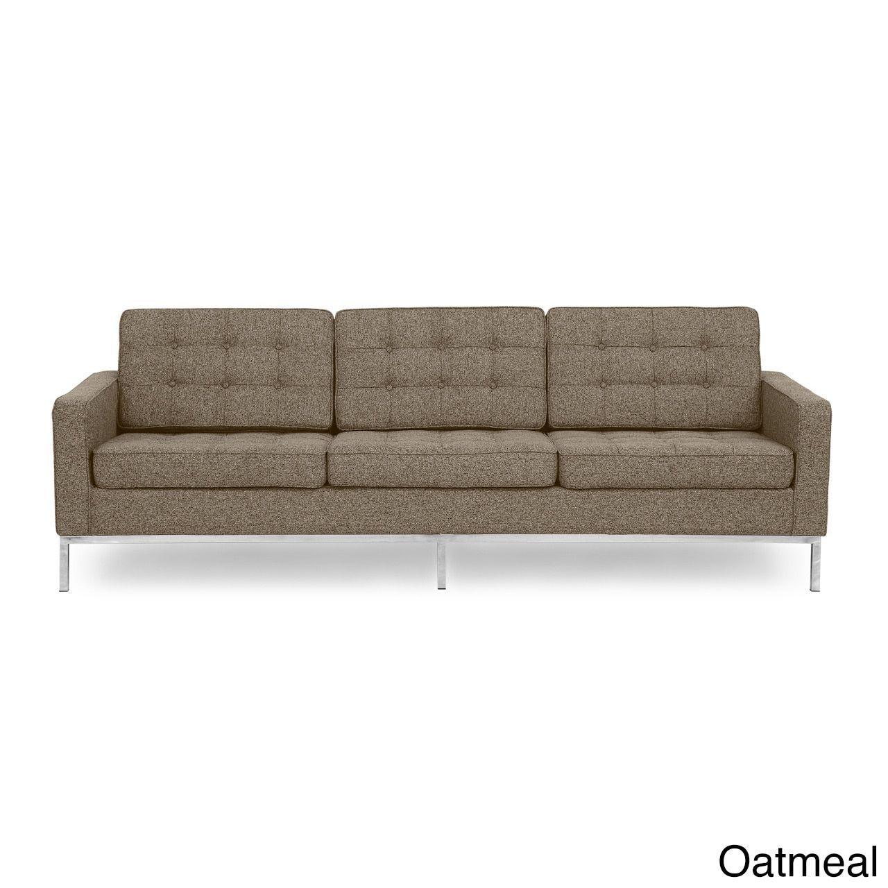 kardiel florence knoll style sofa 3 seat premium fabric upholstery rh za pinterest com