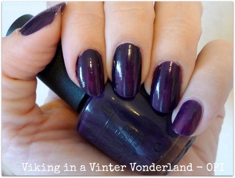 Colección de esmaltes de uñas Nordic de OPI | Esmaltes | Pinterest ...