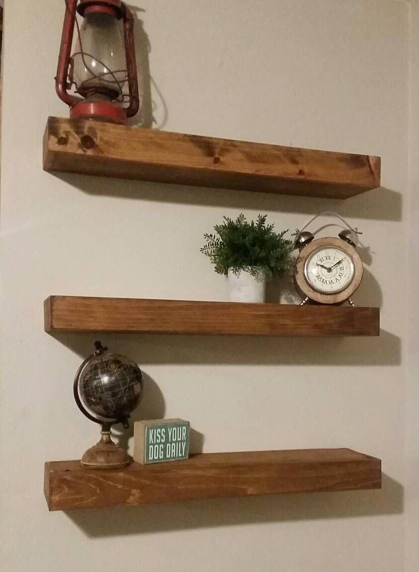 cedar floating shelf cedar floating shelves rustic wood decor rh pinterest com