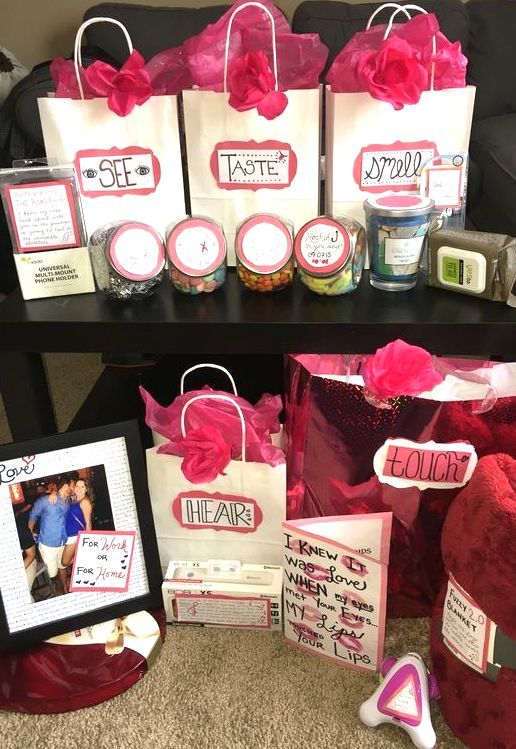 What To Put In 5 Senses Gift For Boyfriend