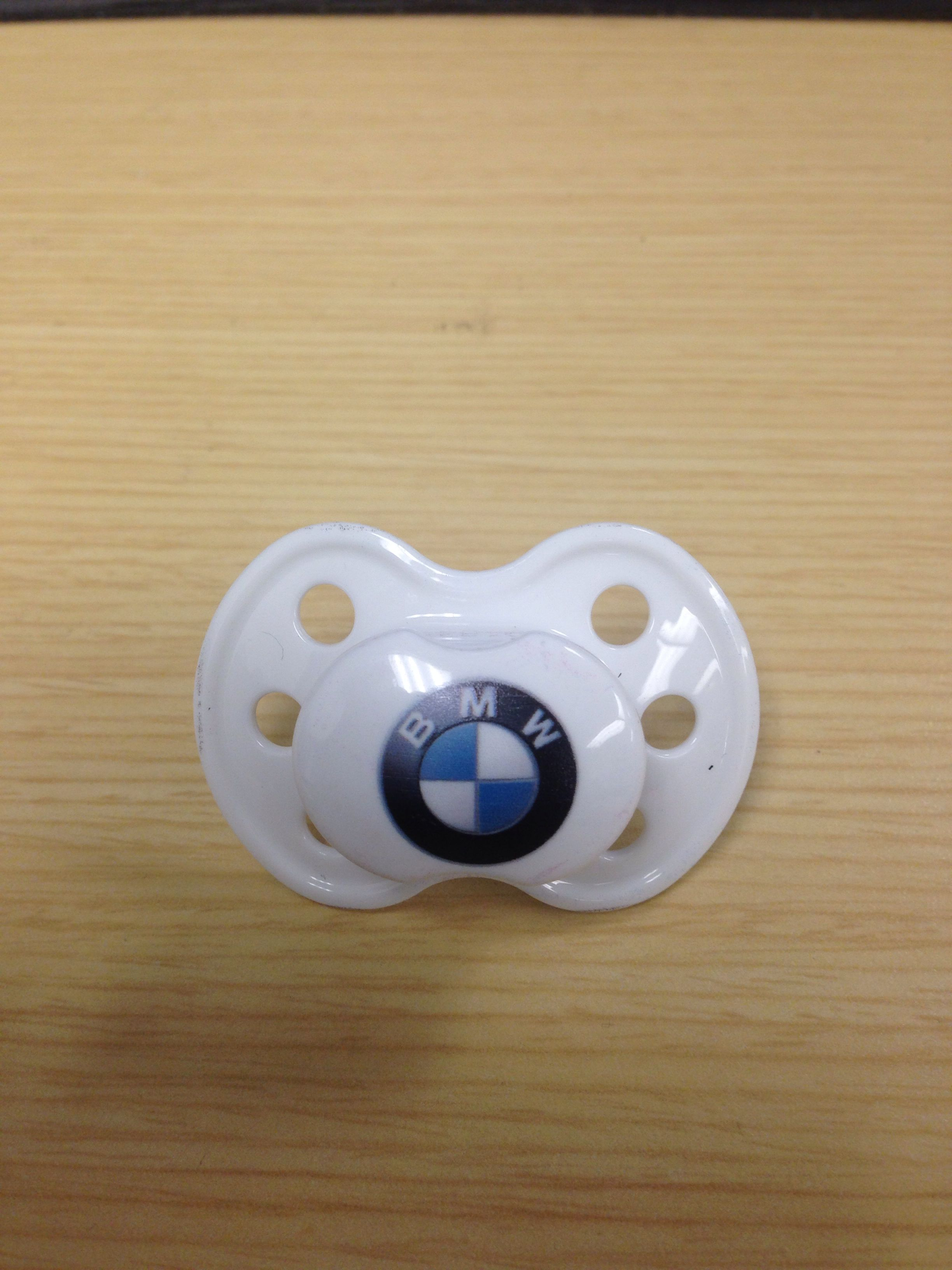 The Bmw Logo Nuk Or Pacifier Bmwbaby Bmw Accessories