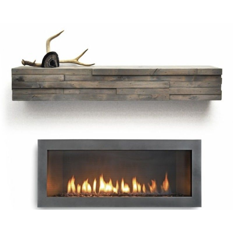 modern mantel shelf by dogberry collections sliding barn doors rh pinterest com