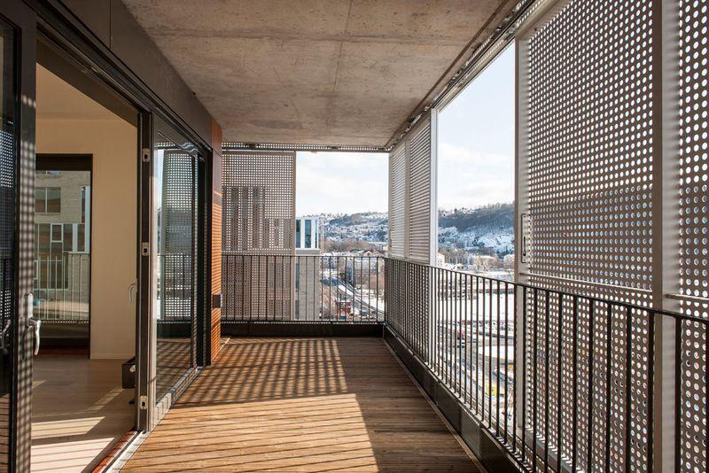 Was Heißt Loggia das barcode prinzip wohnhochhaus mad arkitekter loggia balkon