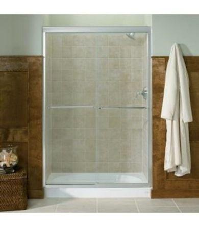 15 Ways To Make A Small Bathroom Big Sliding Shower Door Shower Doors Frameless Bypass Shower Doors
