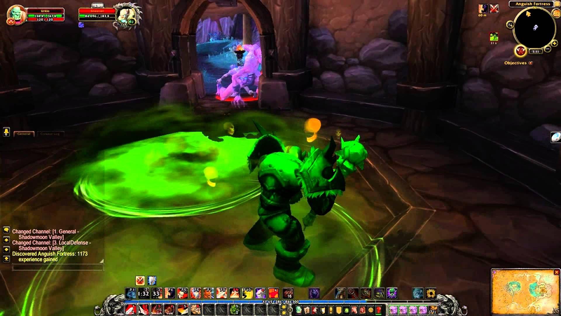 nice World of Warcraft: Warlords of Draenor  - Rare Spawns: Sneevel