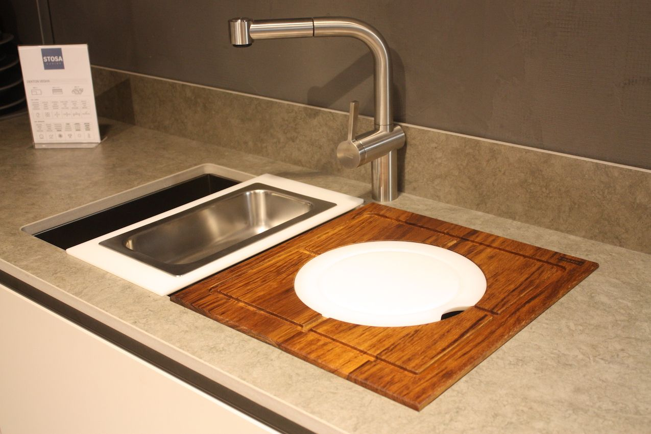 Stosa sink accessories Stosa design includes a