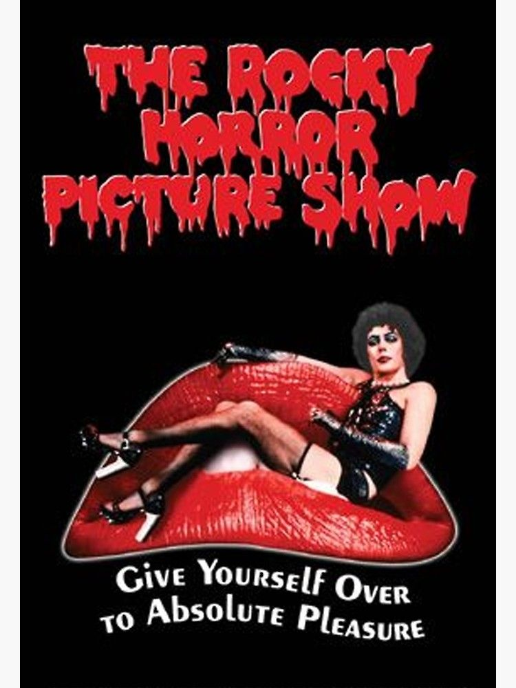 The Rocky Horror Picture Show Poster By Yusalembog Redbubble Rocky Horror Picture Horror Picture Show Rocky Horror