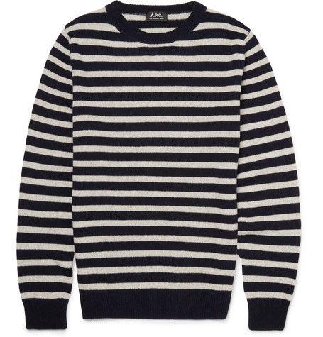A.P.C Classic striped jumper sx1Fwp