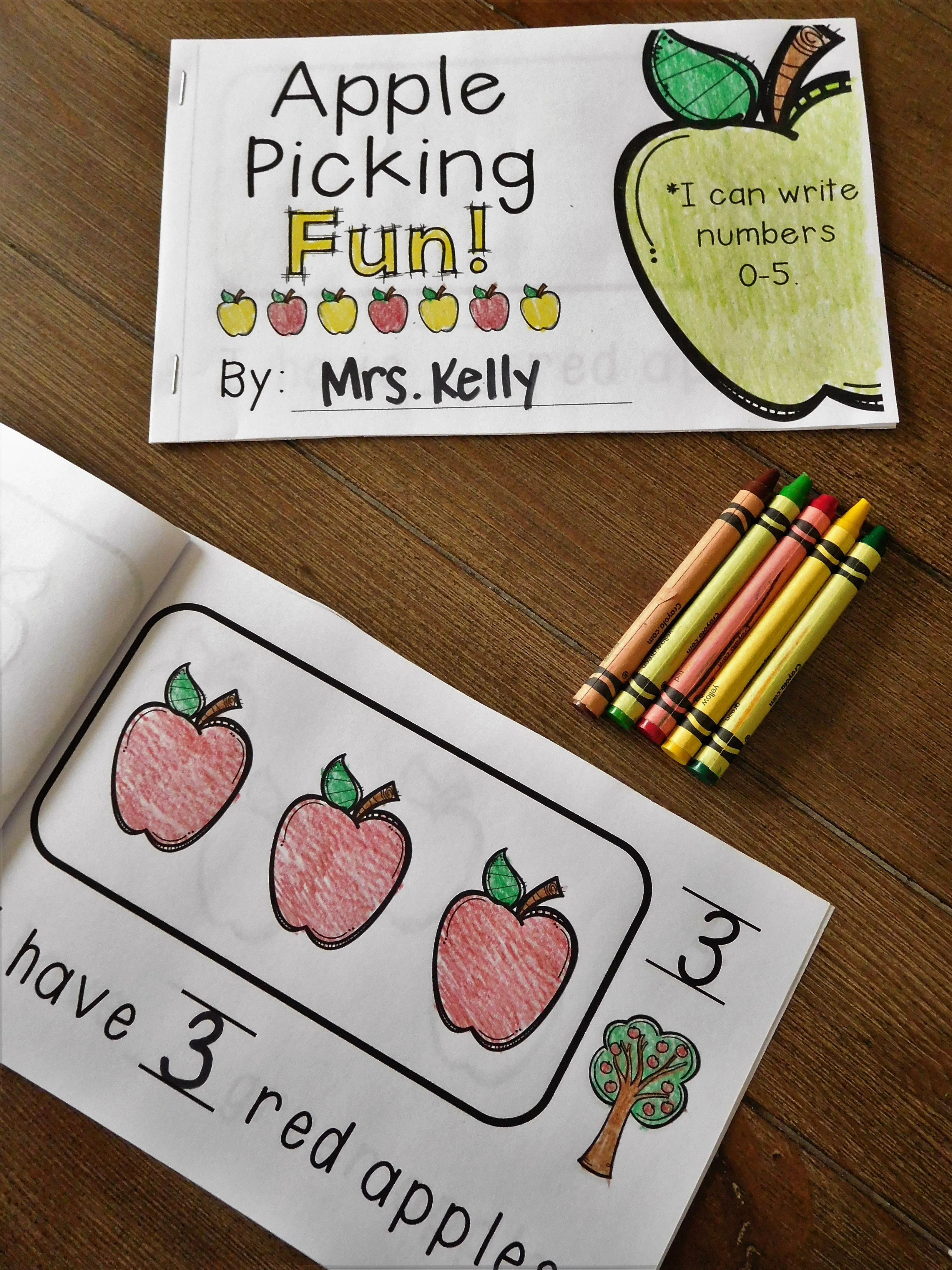 Writing Numbers 0-5 Interactive Reader | Pinterest | Kind, September ...