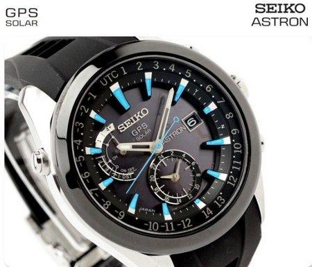 Seiko Astron Solar Gps Watch Sast009 時計 腕時計 青