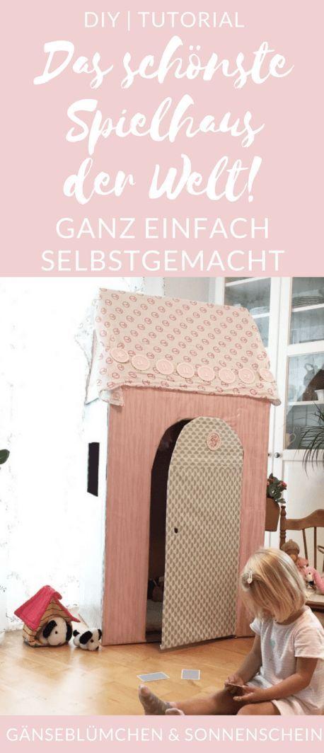 So baust du das schönste Schachtelhaus der Welt | DIY | Gänseblümchen & Sonnenschein