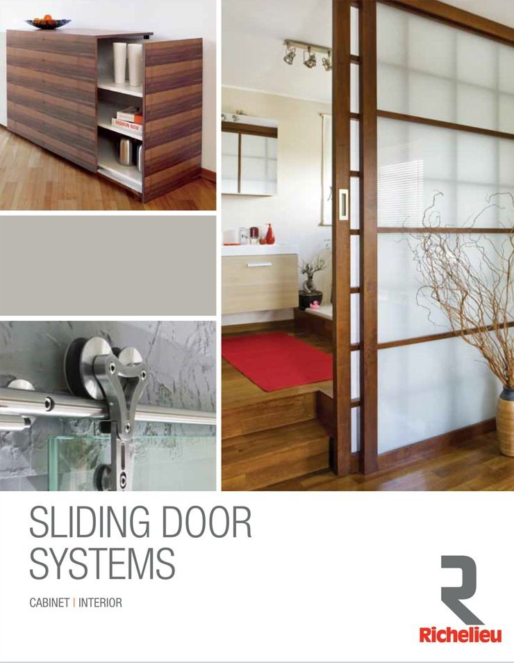 Sliding Door Systems Brochure at Richelieu Hardware & Sliding Door Systems Brochure at Richelieu Hardware | Projects to ...