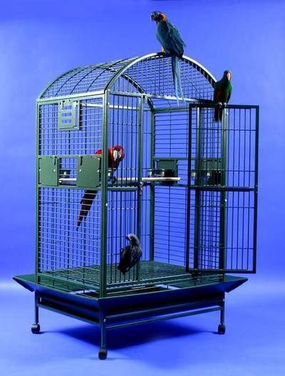 AE Cage Dome Top 36 x 28 Powder Coated