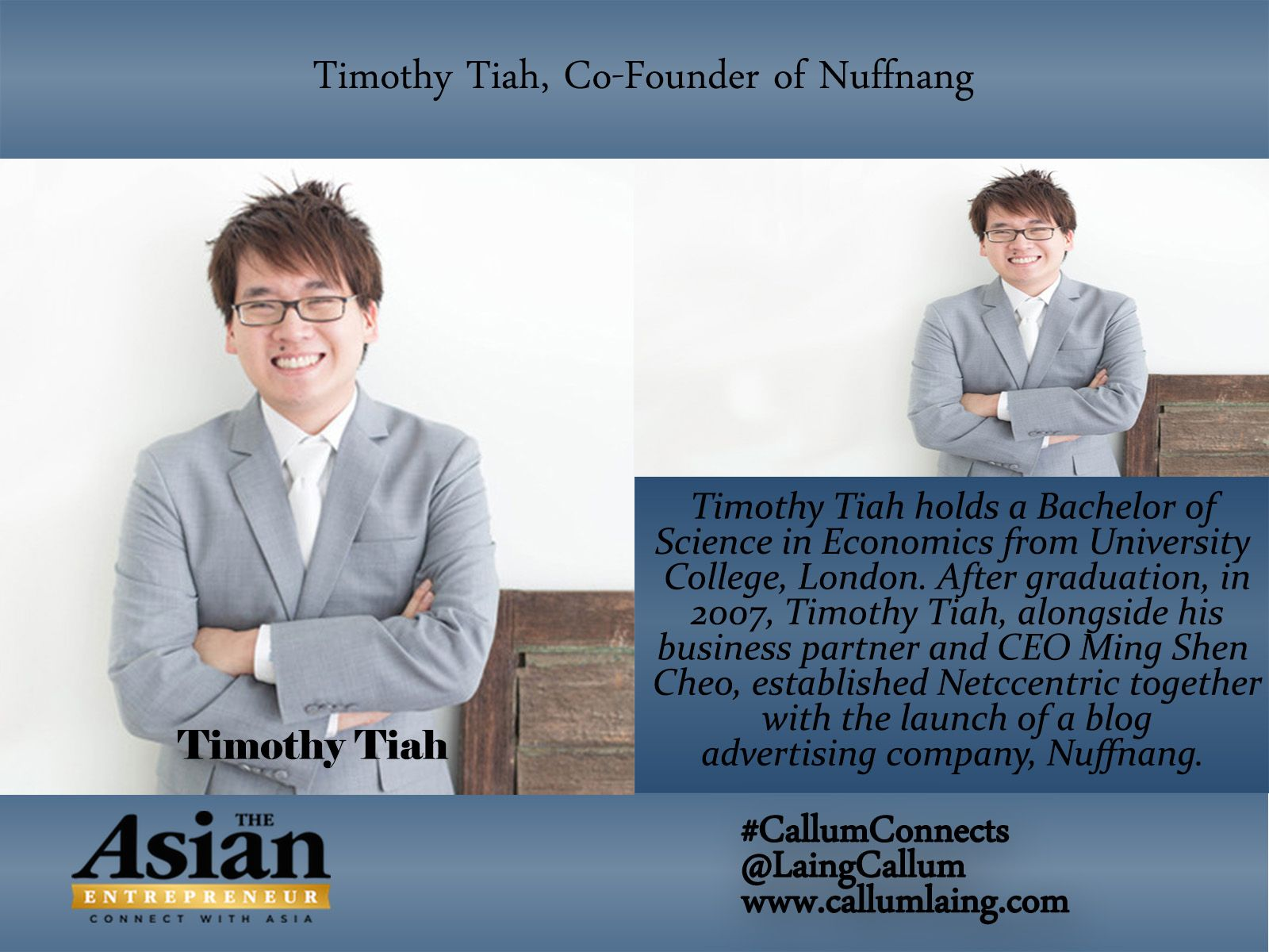 Timothy tiah millionaire